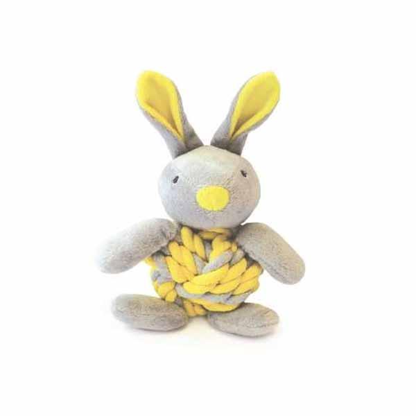 knottie bunny-παιχνιδι-σκυλου-σχοινι-μπαλα