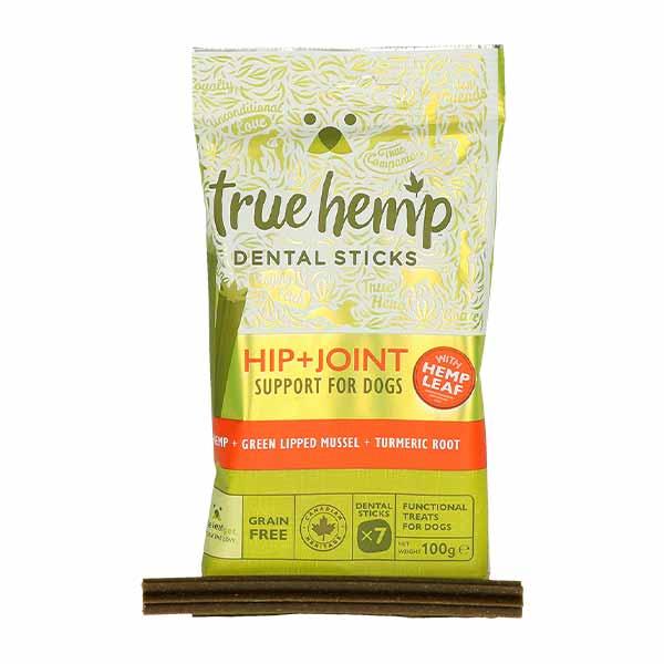 true hemp-dental sticks-σκυλος-καναβη-αρθρωσεις