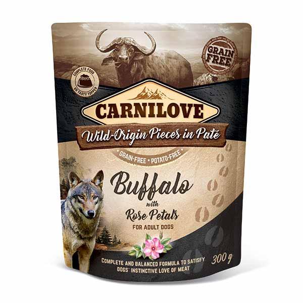carnilove-pouches-πατε-σκυλου-βουβαλι-ολιστικη-διατροφη
