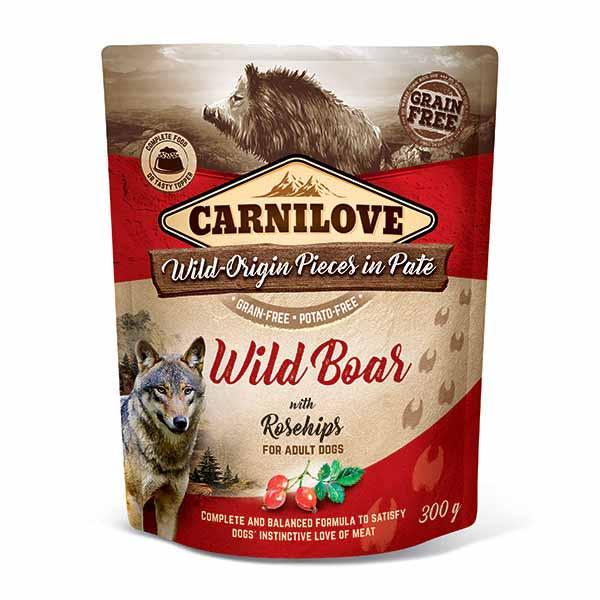 carnilove-υγρη-τροφη-σκυλου-αγριοχοιρος-ολιστικη-τροφη